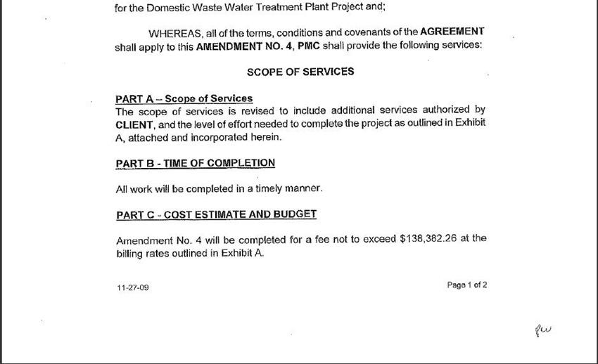 Contract Amendment 10