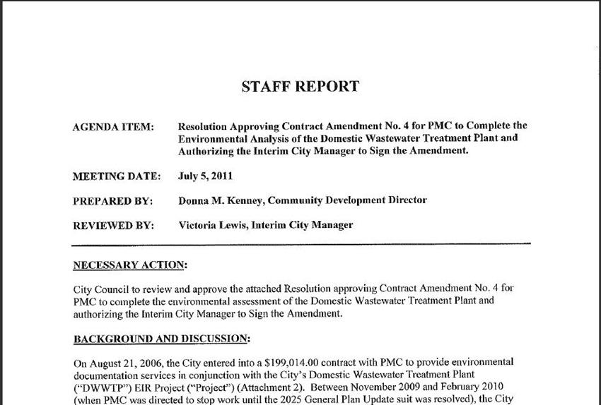 Contract Amendment 1
