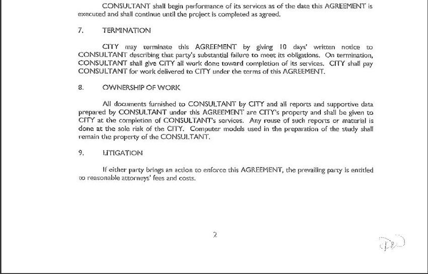 Contract Amendment 20