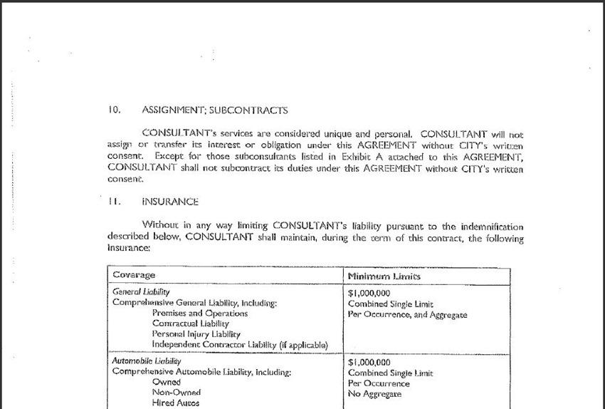 Contract Amendment 21