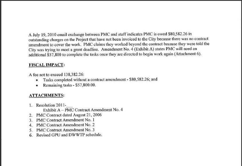 Contract Amendment 3
