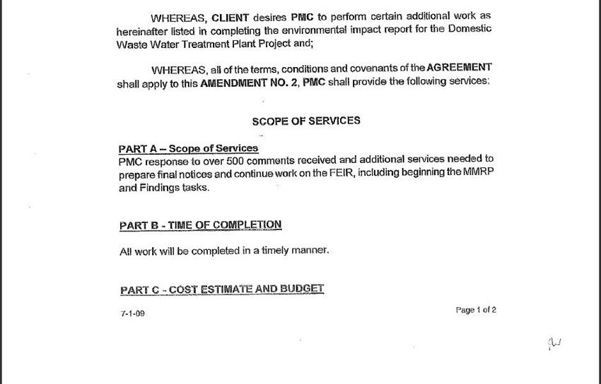 Contract Amendment 54