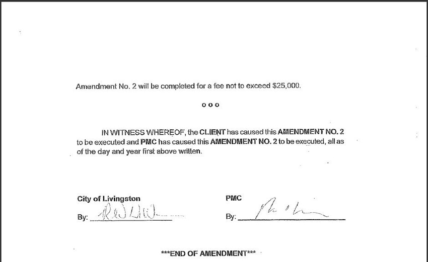 Contract Amendment 55
