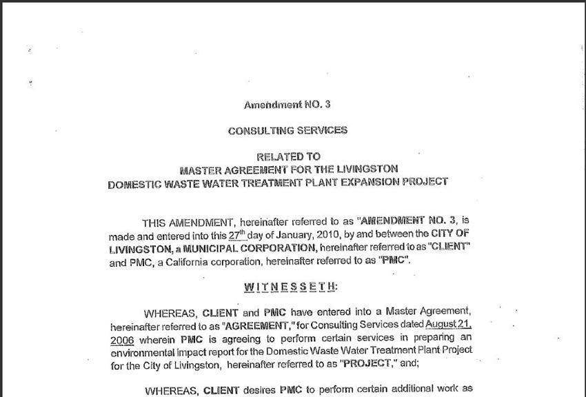 Contract Amendment 57
