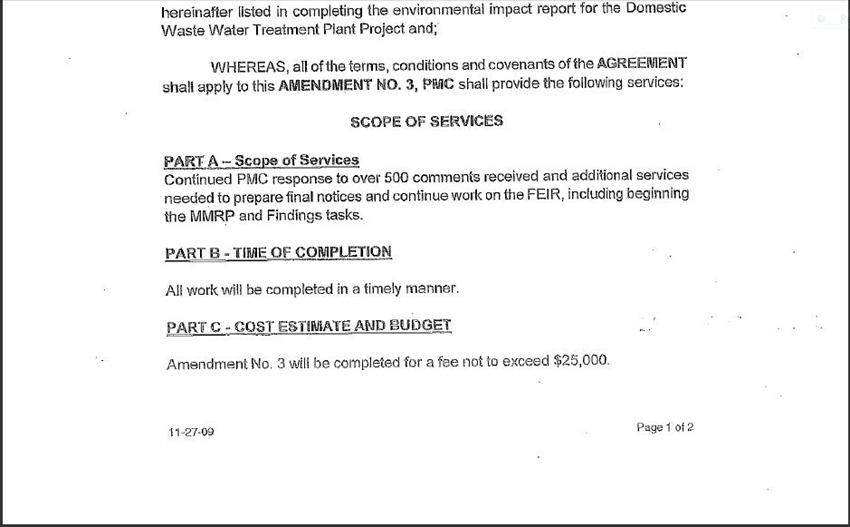Contract Amendment 58