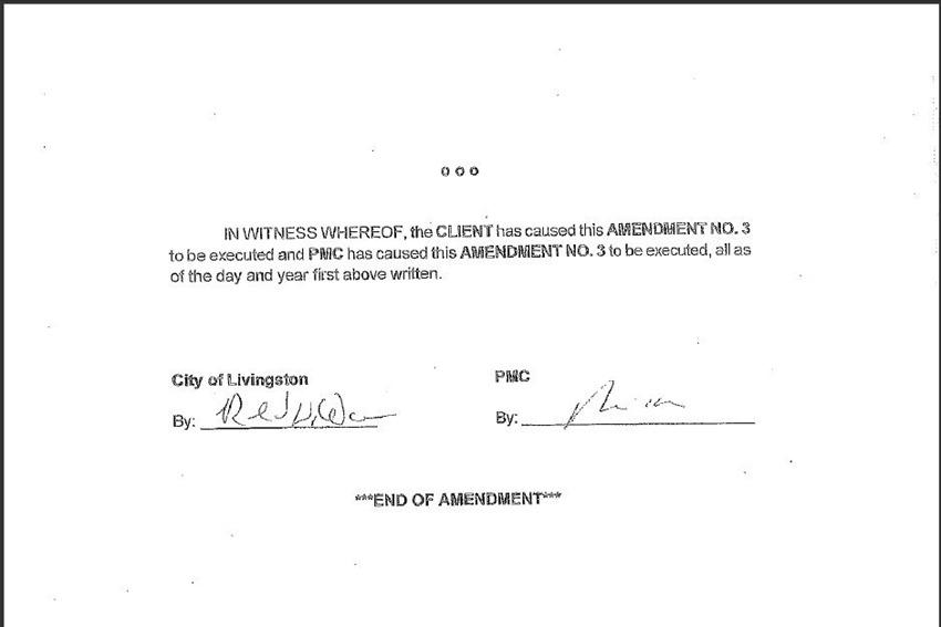 Contract Amendment 59