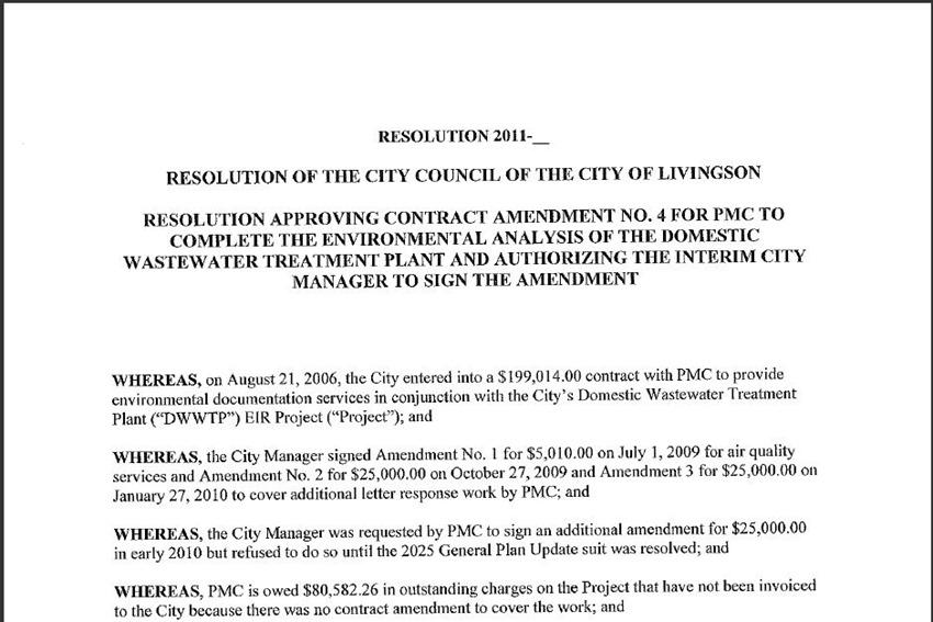 Contract Amendment 5
