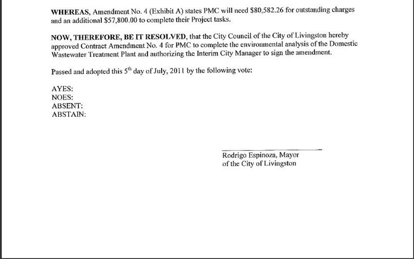 Contract Amendment 6