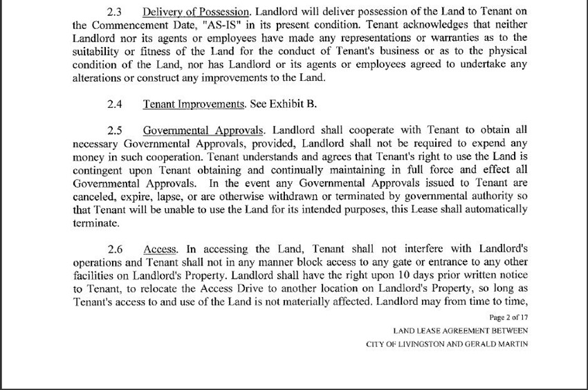 Land Lease Agreement 10