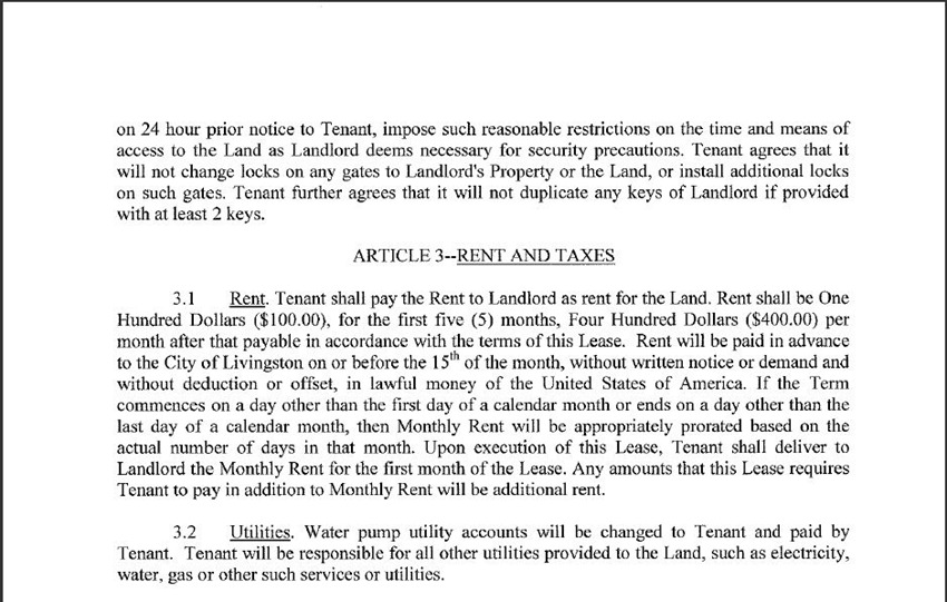 Land Lease Agreement 11