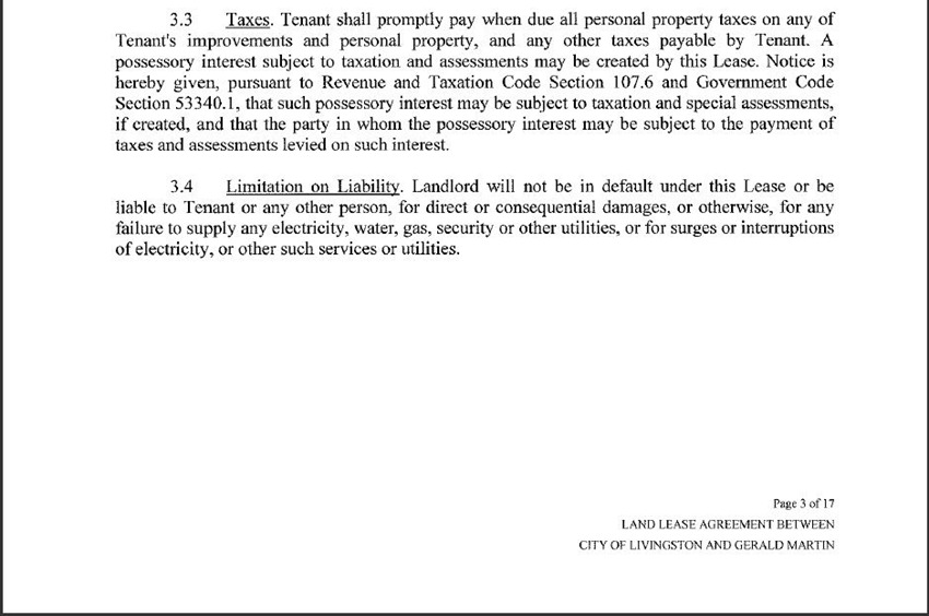 Land Lease Agreement 12