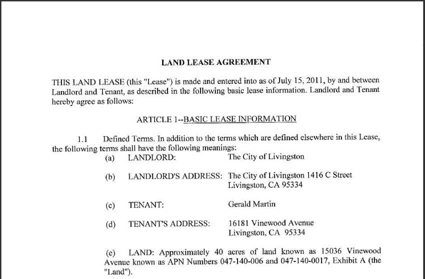 Land Lease Agreement 7