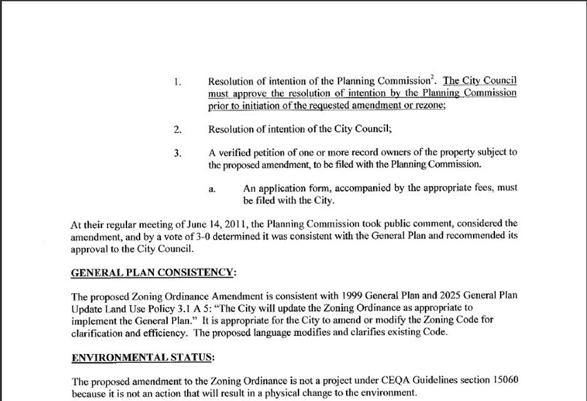 Amendments and ReZoning 3