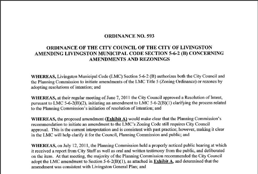 Amendments and ReZoning 5