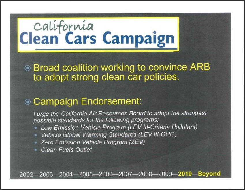 California Clean Cars Campaign 15
