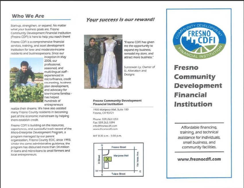 Fresno Community Development Financial Institution 1