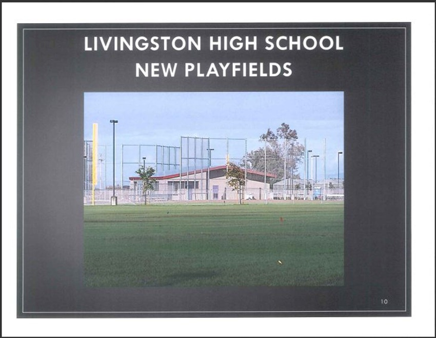 Livingston High School Measure M Improvements 10