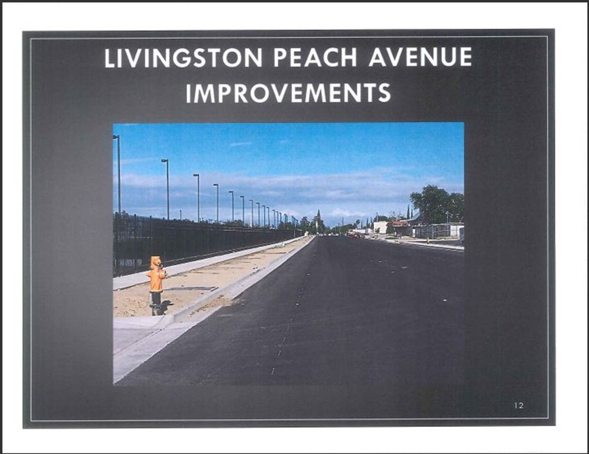 Livingston High School Measure M Improvements 12