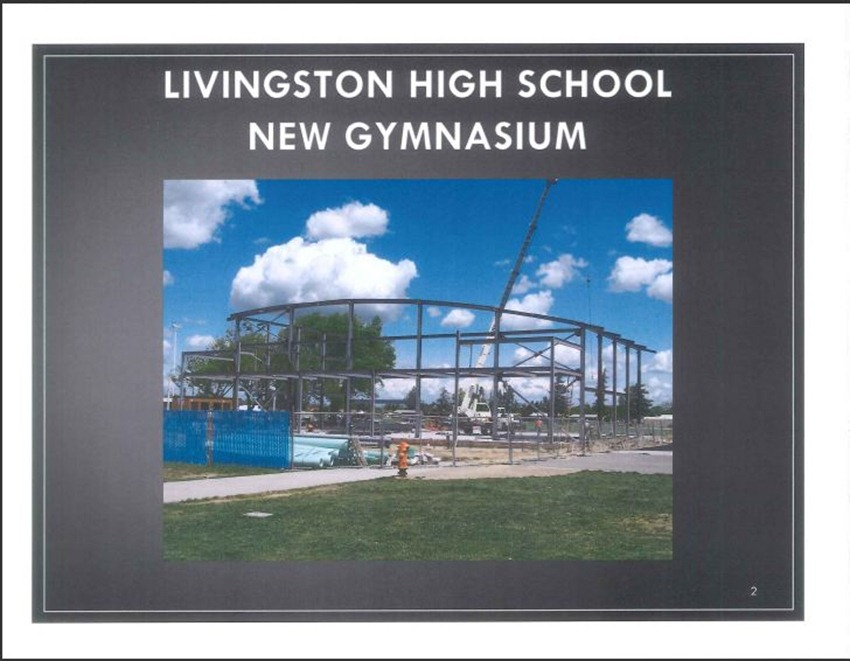 Livingston High School Measure M Improvements 2
