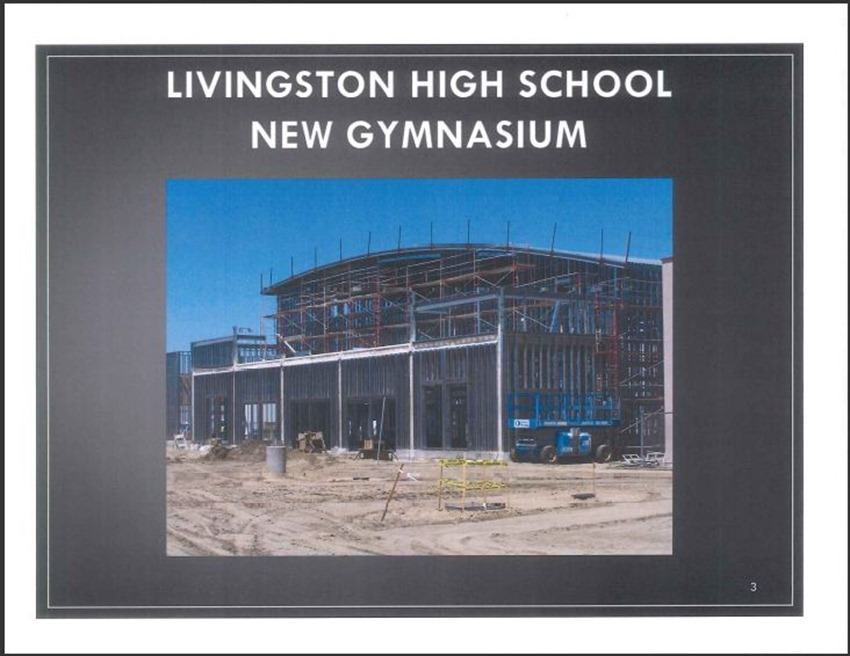 Livingston High School Measure M Improvements 3