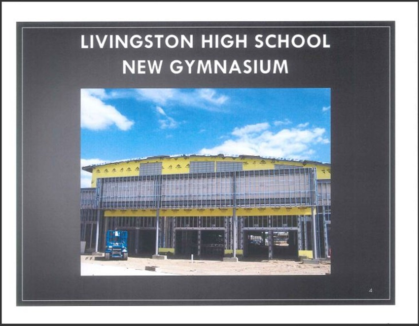 Livingston High School Measure M Improvements 4