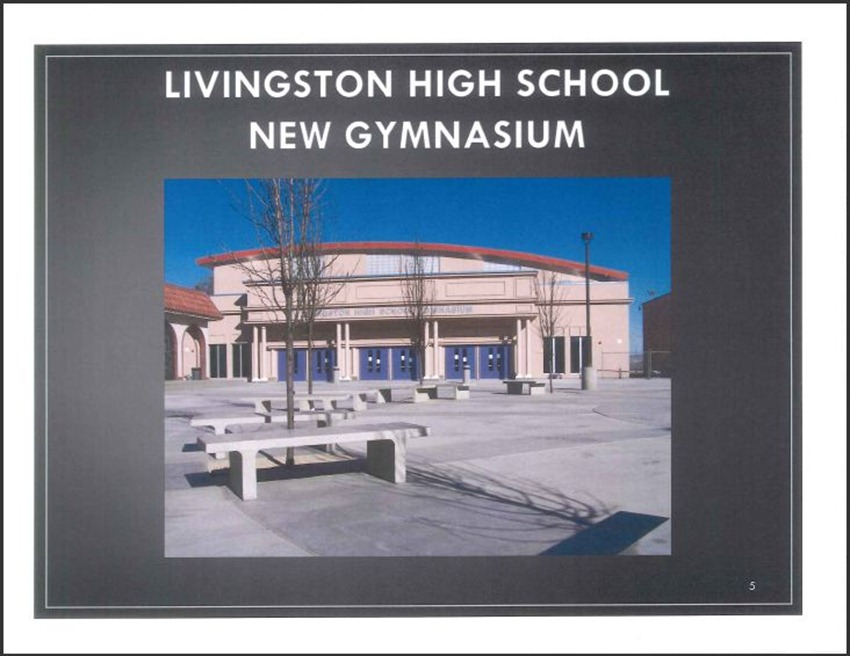 Livingston High School Measure M Improvements 5