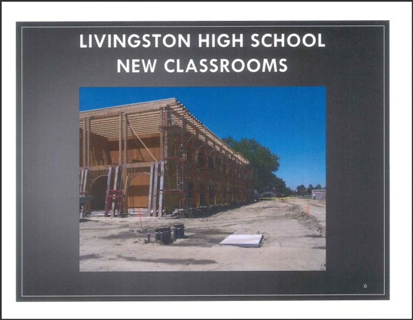 Livingston High School Measure M Improvements 6