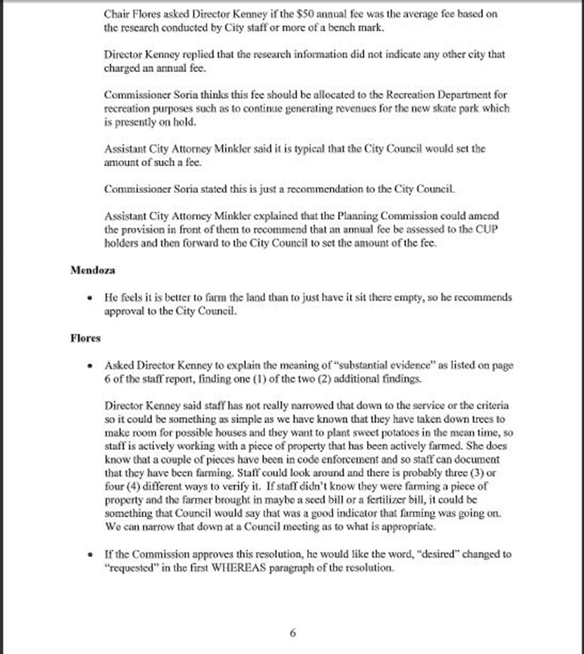 Draft Minutes Page 6
