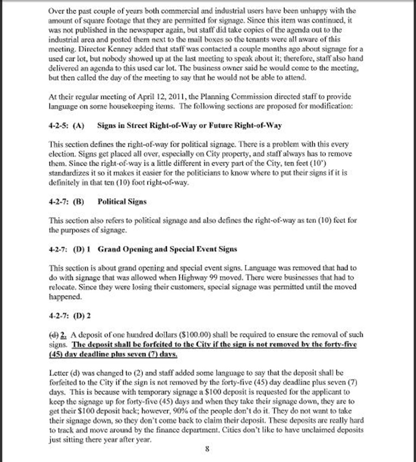 Draft Minutes Page 8