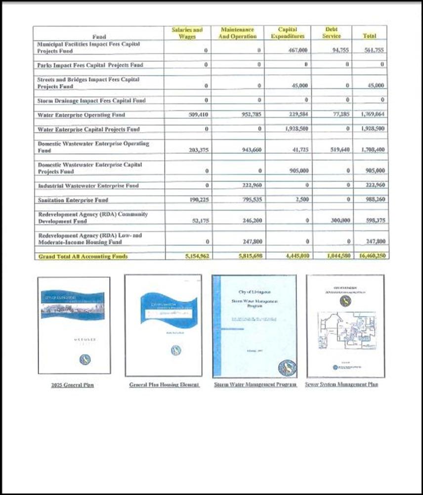 Budget Summary 12