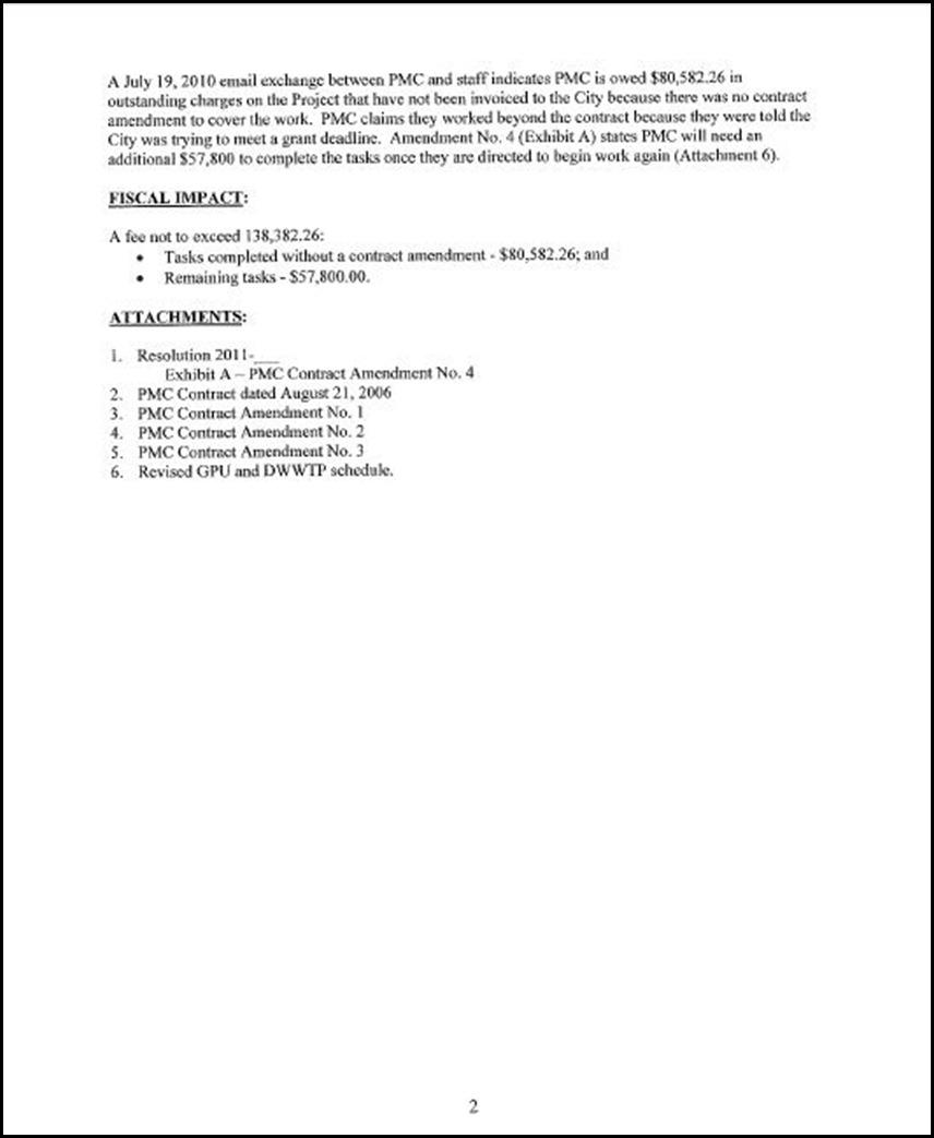 Staff Report 2