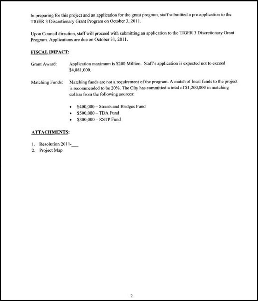 TIGER Grant App 2