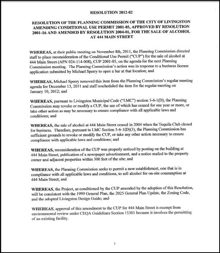 Appeal - 444 Main Street CUP Page 5-1