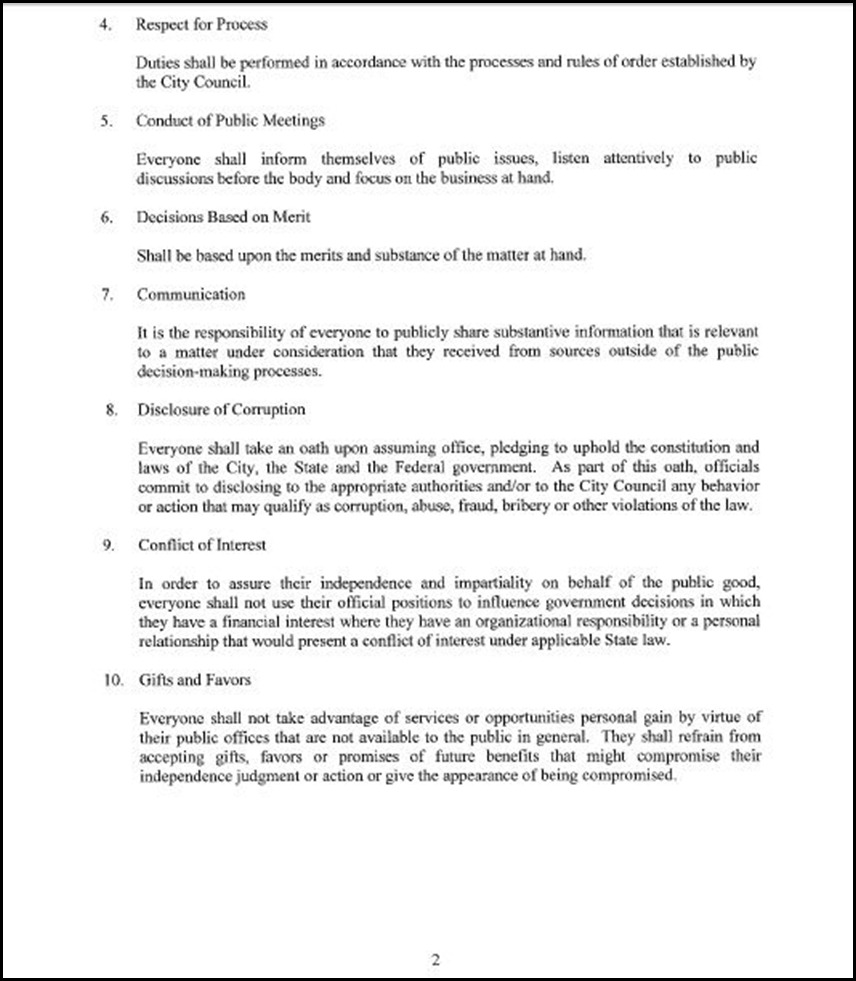 Code of Conduct Page 3