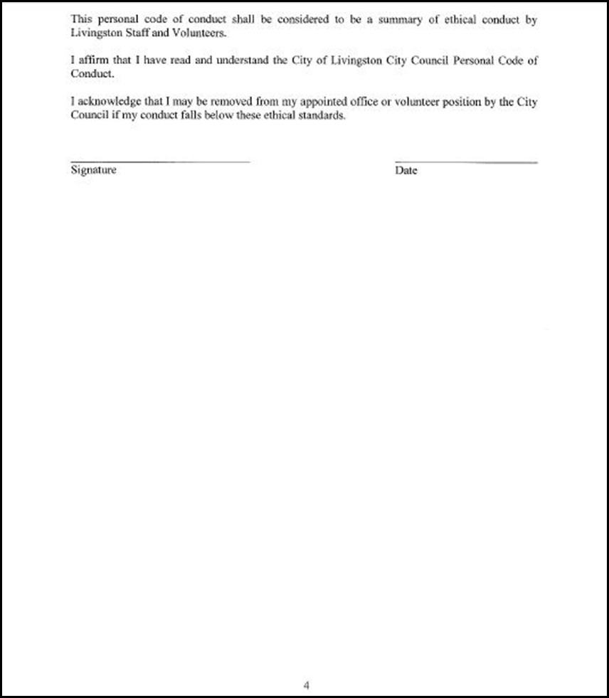 Code of Conduct Page 5