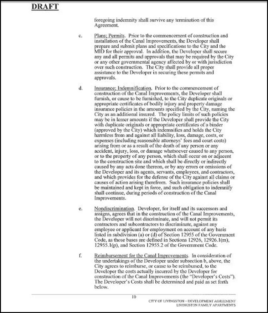 Development Agreement Page 10
