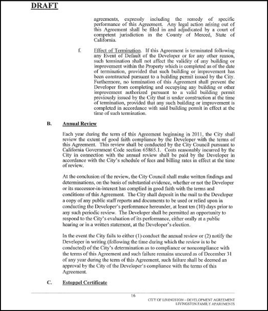 Development Agreement Page 16