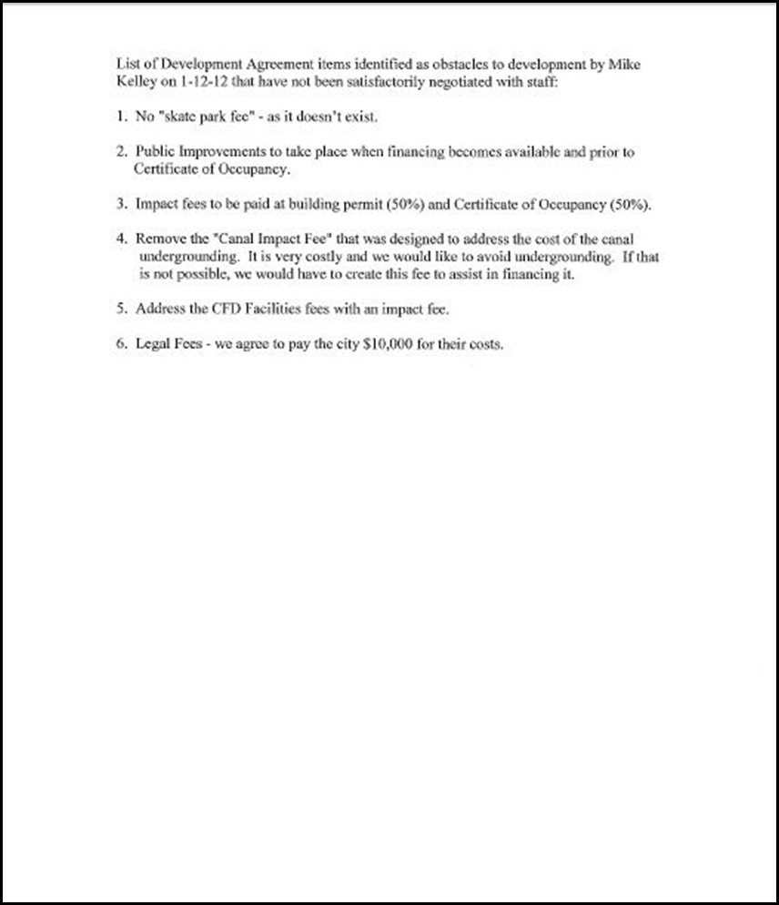 Development Agreement Page 30