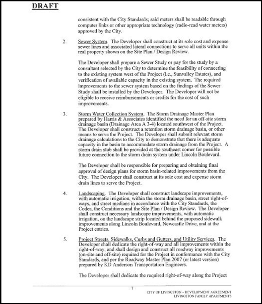 Development Agreement Page 7