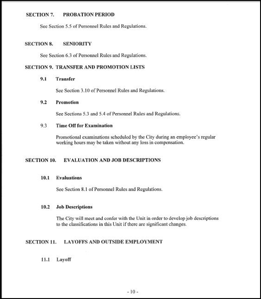MOU-Management-Confidential Employees Page 4-10