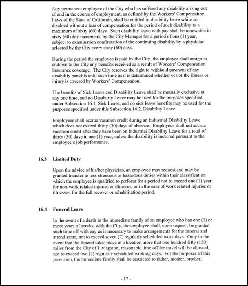 MOU-Management-Confidential Employees Page 4-17