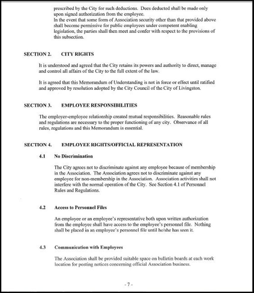 MOU-Management-Confidential Employees Page 4-7