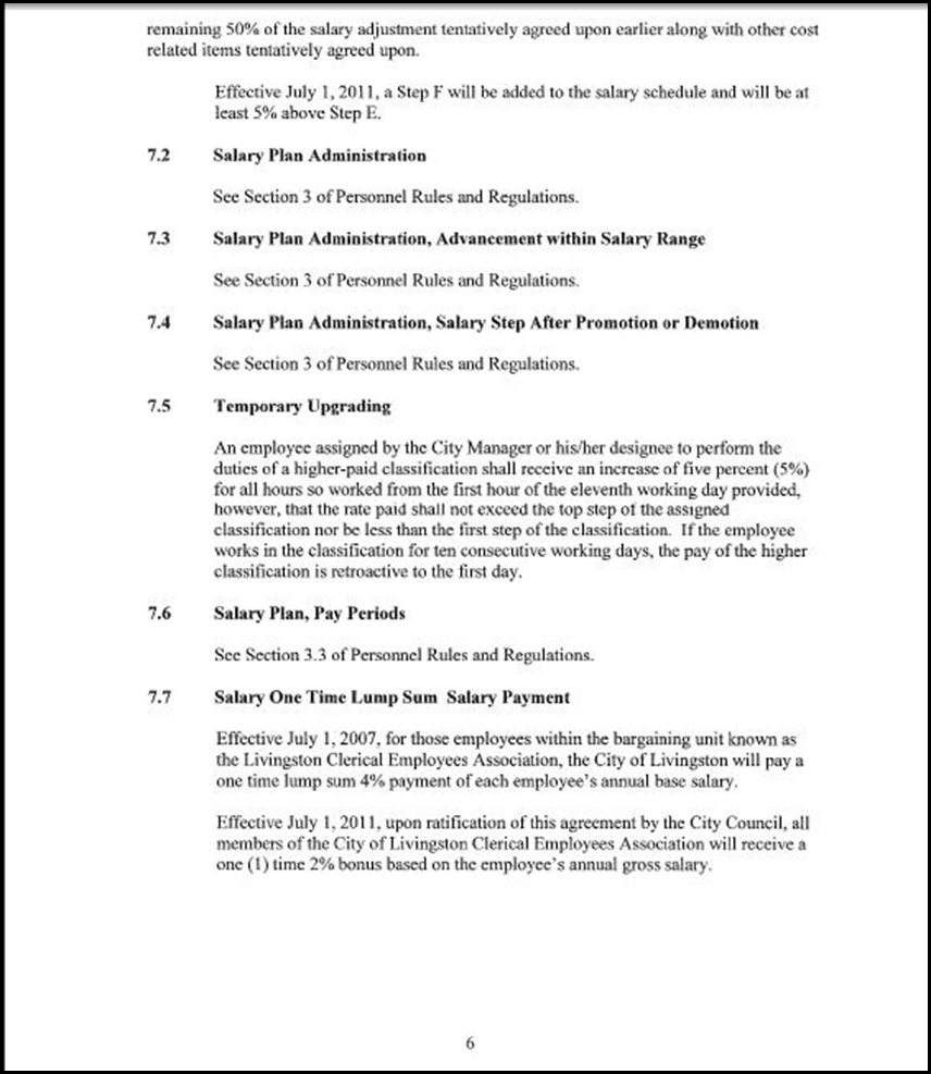 Clerical Empl MOU Page 5-6
