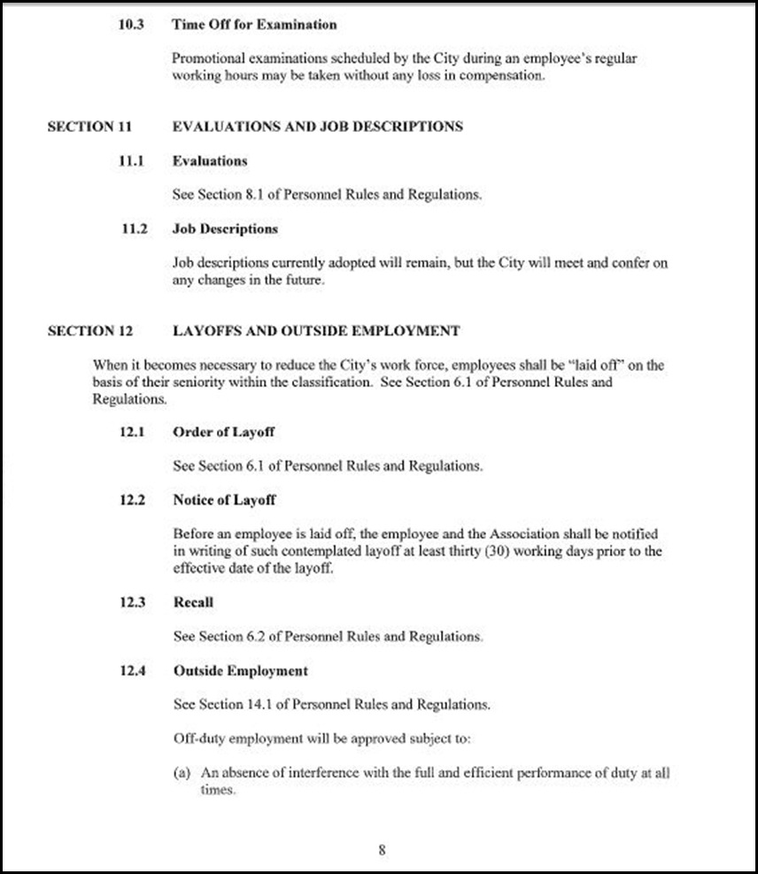 Clerical Empl MOU Page 5-8