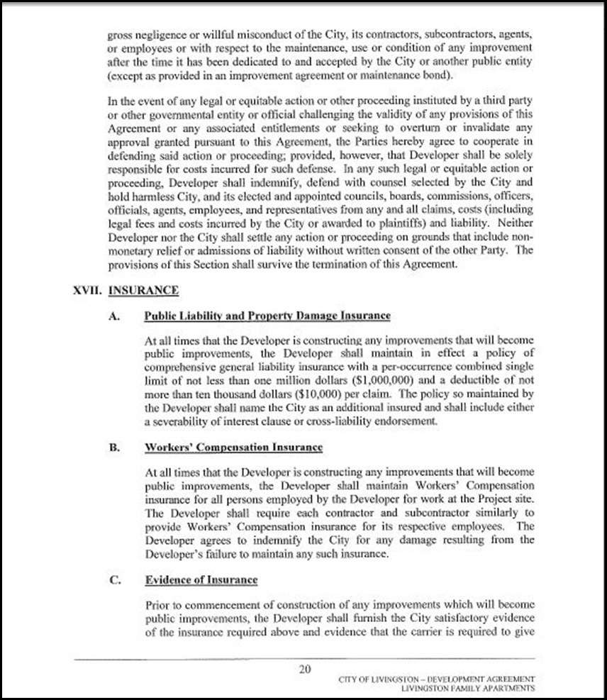 Development Agreement Page 4-20