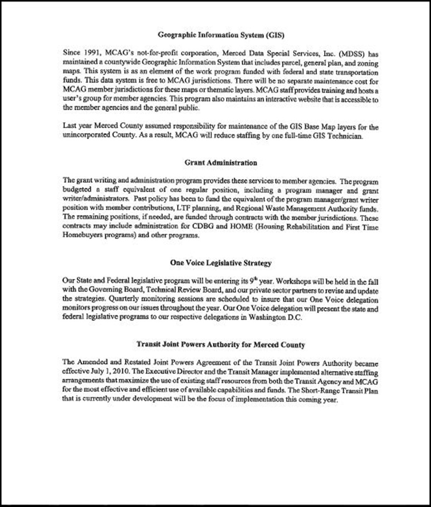 MCAG Work Program Page 4