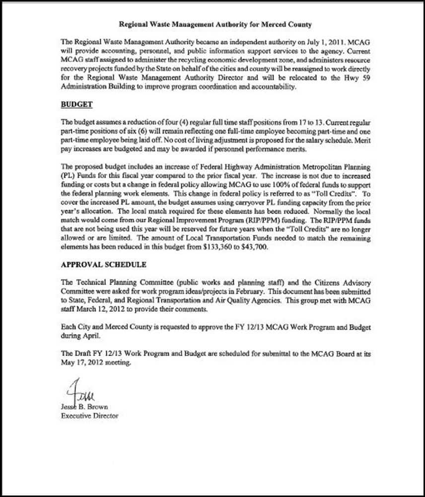 MCAG Work Program Page 5