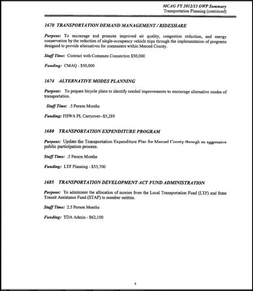 MCAG Work Program Page 6-4