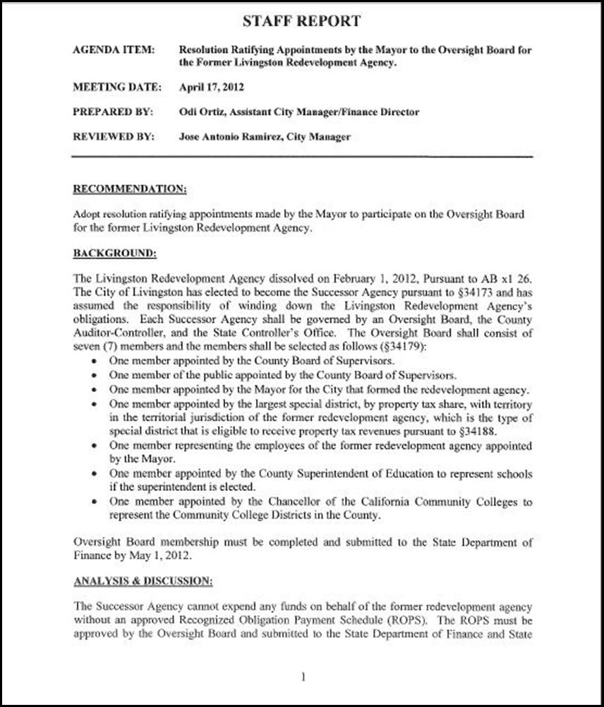 Oversight Page 1