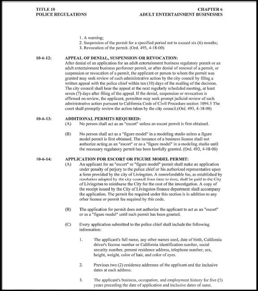 Police Regulations Page 14